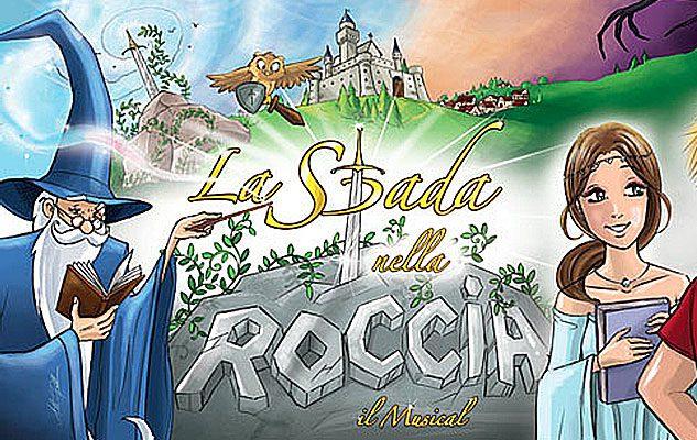 La Spada nella Roccia – il Musical a Torino