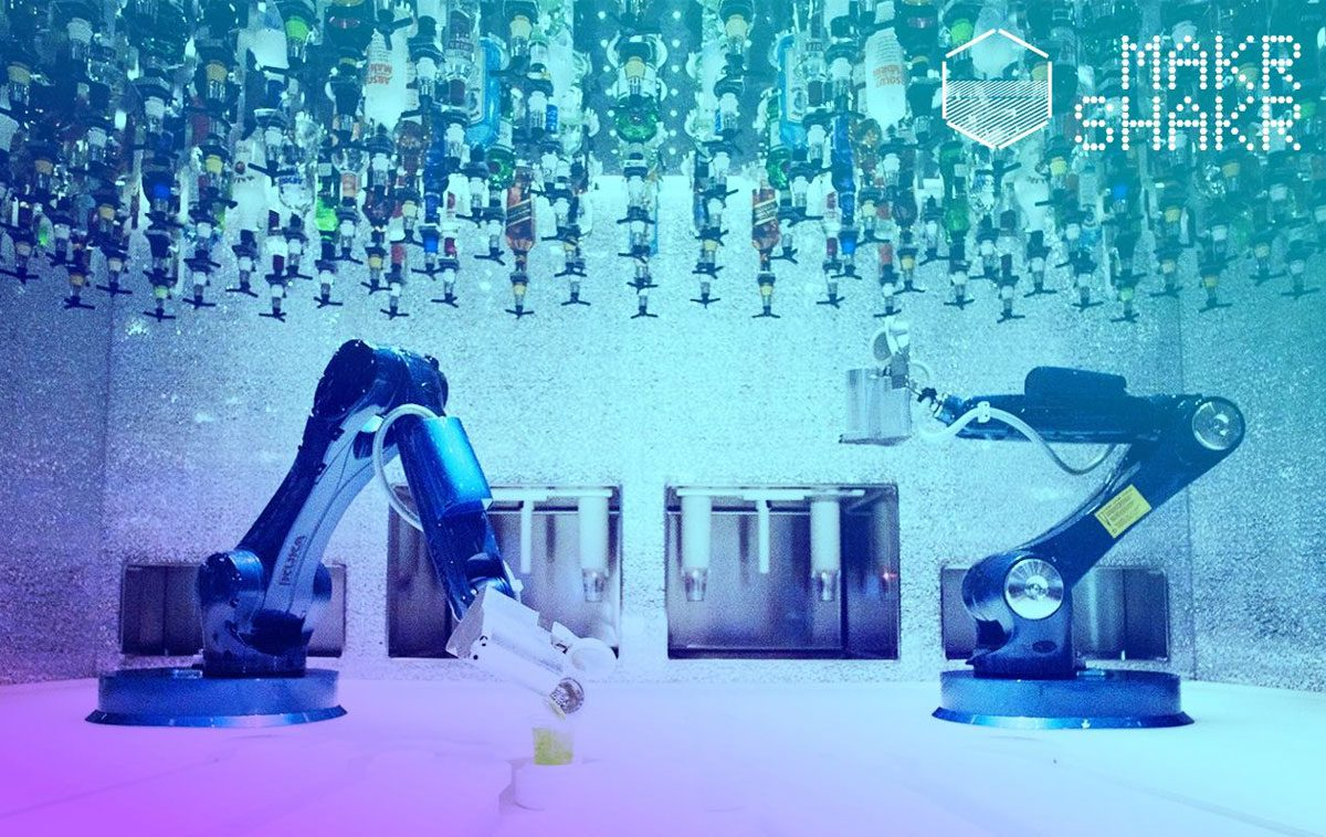Makr Shakr Robotic Bar: questa estate ai Murazzi i cocktail li prepara un robot