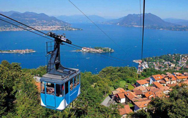 Funivia Stresa-Alpino-Mottarone: sospesi sul Golfo Borromeo tra paesaggi mozzafiato