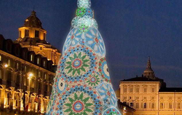 albero natale 2018 roma L'Albero di Natale di Torino 2018 (1 dicembre 2018   6 gennaio  albero natale 2018 roma