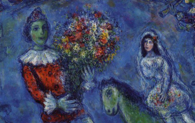 """""""Chagall. Colore e magia"""": fiabe e poesia in mostra ad Asti"""
