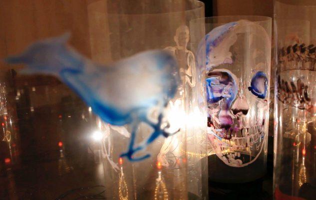 """Nalini Malani """"Восстание мертвых"""" выставки в Турине Мероприятия Турина ноябрь 2018 года"""