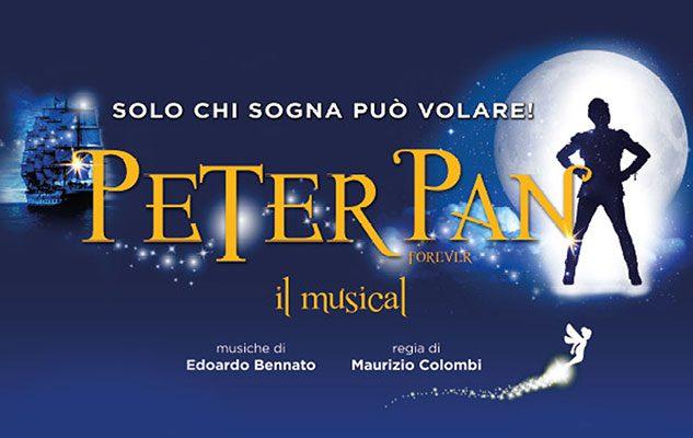 Peter Pan – Il Musical: a Torino lo spettacolo con le più famose canzoni di Edoardo Bennato