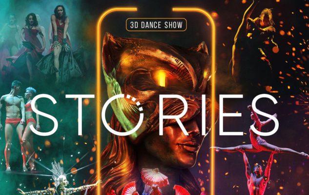 """Dance Show 3D """"Stories"""" a Torino: danza, acrobazie, luci e colori"""