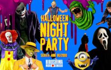 Halloween Night Party 2018 all'Hiroshima Mon Amour