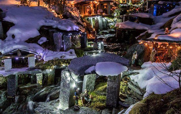 Presepi sull'acqua a Crodo 2018: la magia del Natale nel cuore delle Alpi