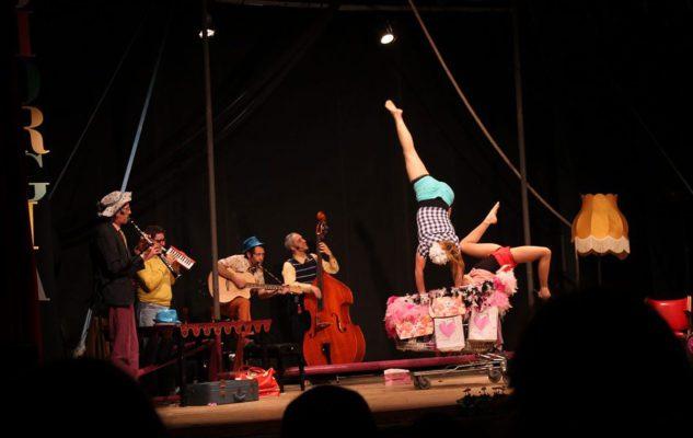 Tre Jolis: acrobatiche performance e evoluzioni musicali a teatro