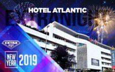 Capodanno 2019 all'Hotel Atlantic: cena, mega party e fuochi d'artificio