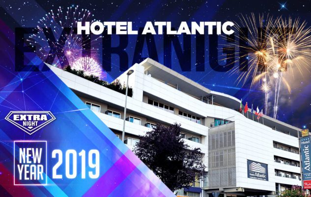 Capodanno 2019 all'Hotel Atlantic: cena, mega party e fuochi d'artificio