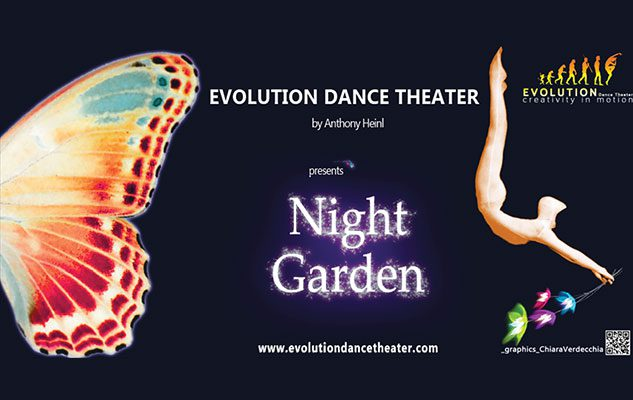 """Evolution Dance Theater – Night Garden"": evoluzioni, luci e magiche atmosfere"