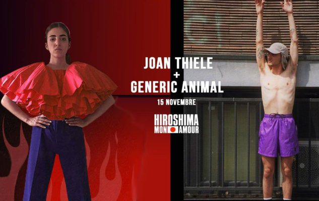 Joan Thiele + Generic Animal: concerto all'Hiroshima Mon Amour