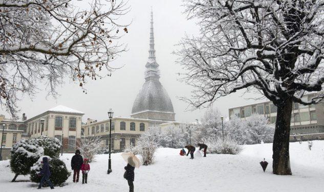 Neve in arrivo a Torino: temperature sotto lo zero per la prima nevicata dell'anno