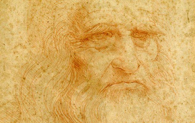 """""""Leonardo da Vinci. Disegnare il futuro"""": l'Autoritratto in mostra a Torino nel 2019"""