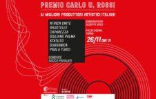 Premio Carlo U. Rossi a Torino: la prima edizione con Caparezza, Paola Turci, Subsonica