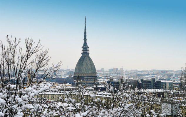 Meteo: attesa la neve a Torino e in Piemonte
