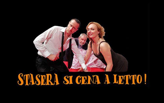 Stasera si cena a letto: commedia sulla coppia al Teatro Gioiello