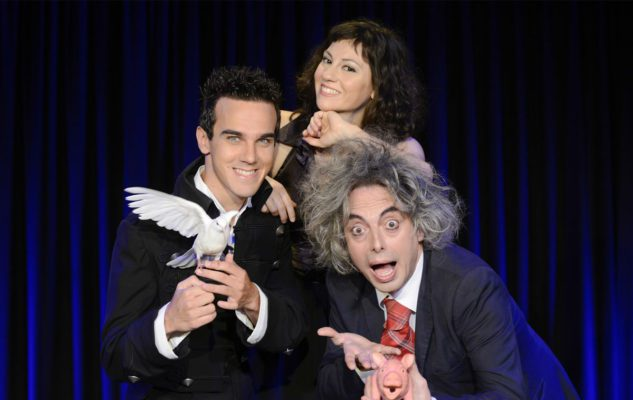 """The Magic Brothers"" con Luca Bono e Francesco Scimemi"