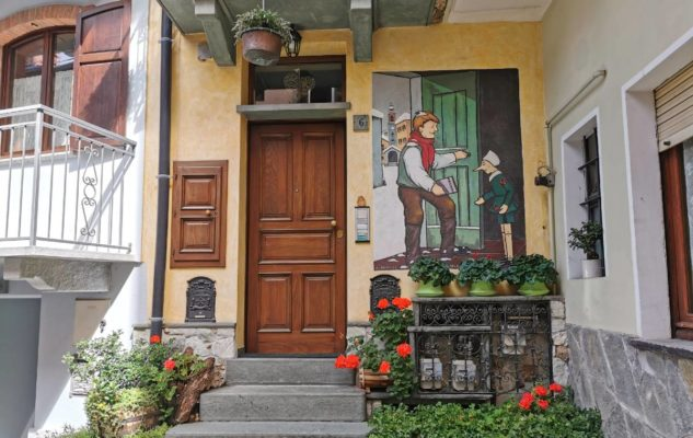Vernante: in Piemonte un borgo da fiaba che racconta sui suoi muri la storia di Pinocchio