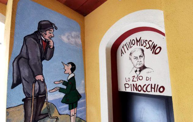 Vernante Piemonte Pinocchio