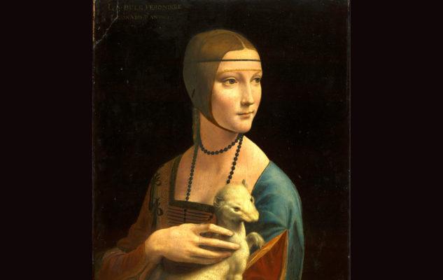 """""""La Dama con l'Ermellino"""" di Leonardo da Vinci in mostra alla Reggia di Venaria"""