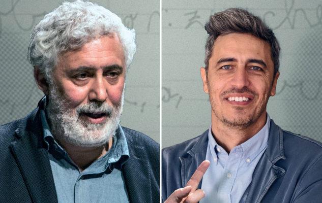 """Francesco Piccolo e Pif a Torino con """"Momenti di trascurabile (in)felicità"""""""
