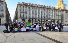 Friday For Future Torino: presidio per l'ambiente in Piazza Castello