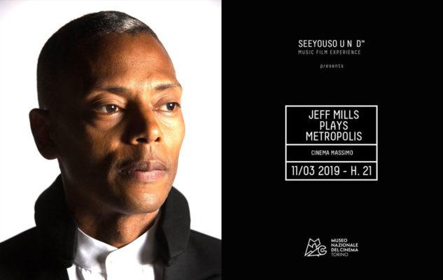 """Jeff Mills plays Metropolis"" al Cinema Massimo di Torino"