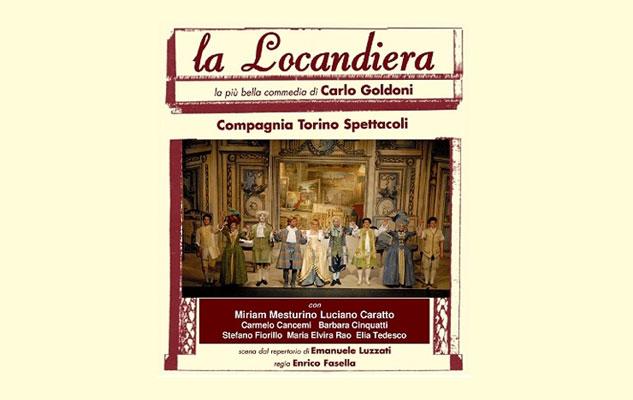 La locandiera di Goldoni in scena al Teatro Alfieri