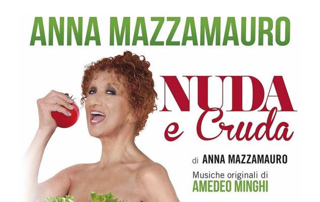 Nuda e Cruda con Anna Mazzamauro a Venaria: data e biglietti