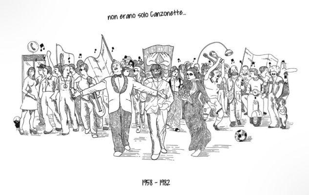 """""""NOI… non erano solo canzonette"""": la mostra sulla canzone italiana a Torino"""