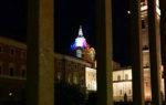 Torino vicina a Parigi: la cupola di Guarini si illumina con il tricolore francese  per Notre-Dame