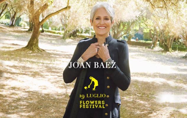 Joan Baez al Flowers Festival 2019 di Collegno: data e biglietti del concerto