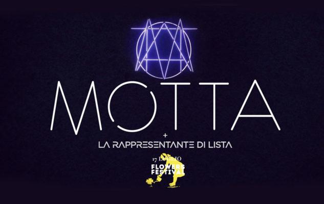 Motta + La Rappresentante di Lista al Flowers Festival 2019 di Collegno: data e biglietti