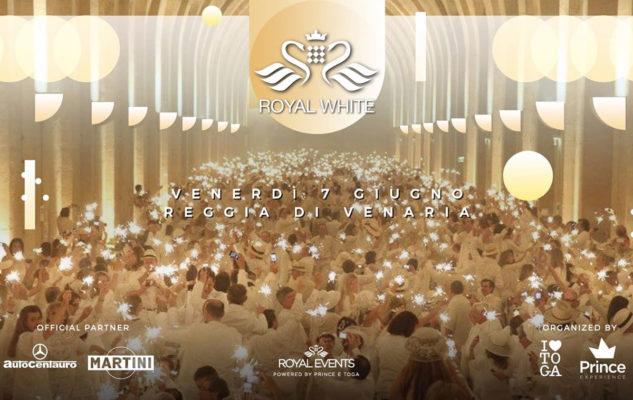Royal White 2019: la festa in bianco alla Reggia di Venaria