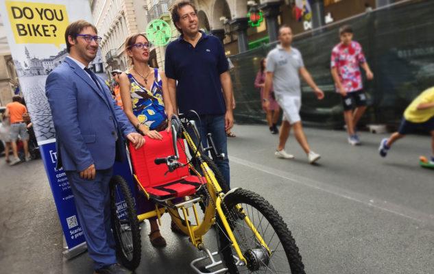 ToHandbike: a Torino il primo servizio in Italia e in Europa di bike sharing per utenti con disabilità