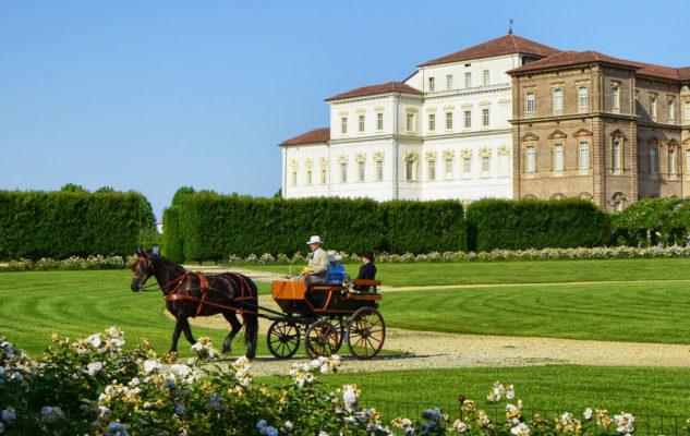 Tour in Carrozza a cavallo negli splendidi giardini della Reggia di Venaria