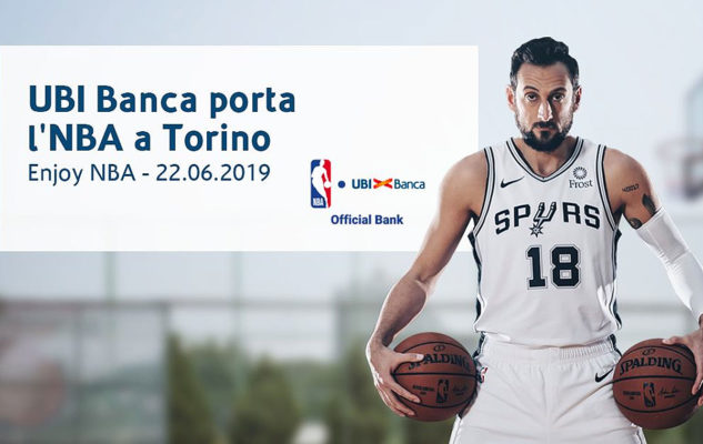 Enjoy NBA 2019 a Torino con Marco Belinelli
