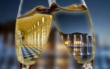 Un calice alla corte del Re: visita alla Reggia di Venaria dopo il tramonto