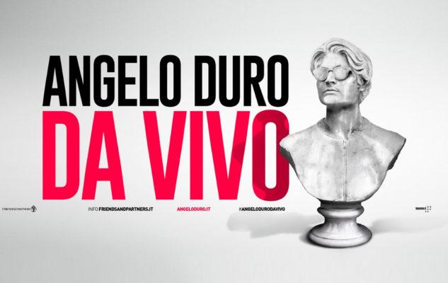 Angelo Duro a Torino con il nuovo spettacolo: data e biglietti