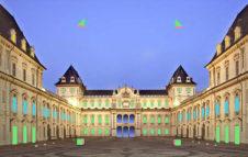 Aperitivo musicale al Castello del Valentino dopo il tramonto