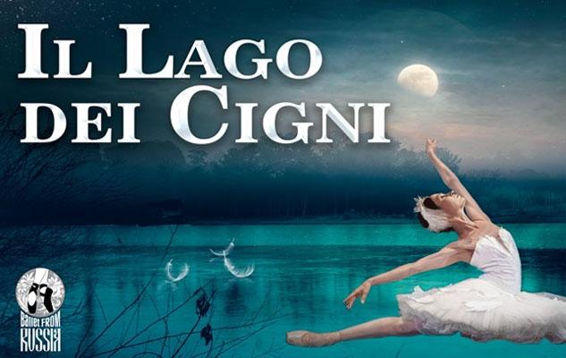 """Il Lago dei Cigni a Venaria con il """"Ballet from Russia"""""""