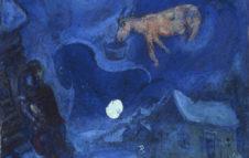 """""""Dalla Terra alla Luna"""": la mostra a Torino con opere di Chagall, Lucio Fontana e molti altri"""