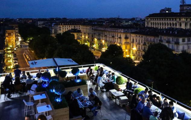 Turet Roof Club: il rooftop con vista su Torino per un aperitivo panoramico
