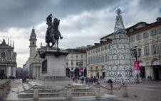 L'Albero di Natale 2019 di Torino illuminerà la magica Piazza San Carlo