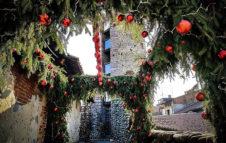Borgo di Babbo Natale a Ricetto Candelo