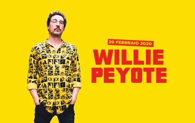 Willie Peyote a Venaria nel 2020: date e biglietti del nuovo tour