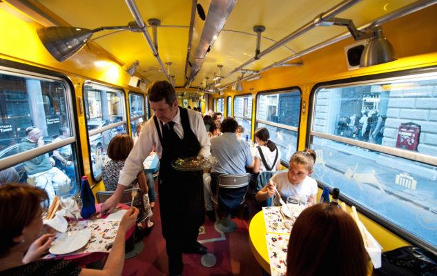 Cena Tram Storico Torino