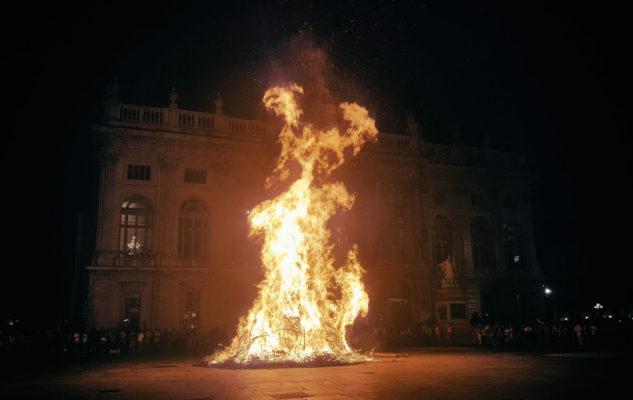 San Giovanni 2020 a Torino: il tradizionale farò