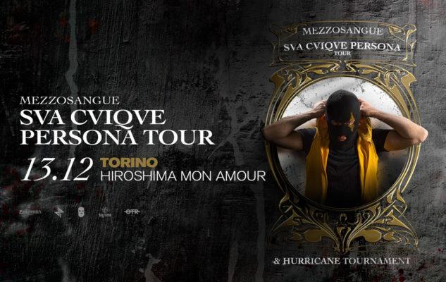 Mezzosangue a Torino nel 2019: data e biglietti del concerto