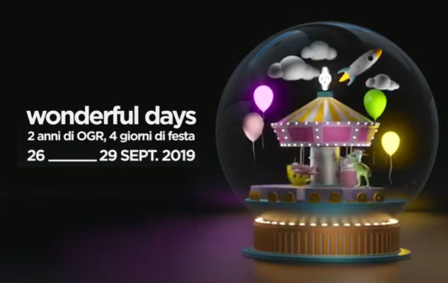 Le OGR di Torino compiono gli anni con i Wonderful Days: concerti, djset, mostre, food